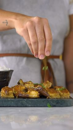 Eggplant with miso - Comida Saudavel Miso Eggplant, Well Seasoned, Asian Recipes, Food And Drink, Healthy Eating, Tasty, Dinner, Vegetables, Cooking