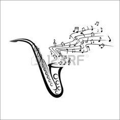 dessin instrument de musique: