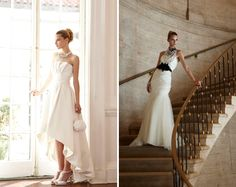 Bridal Portrait Ideas | ... House Black Market Bridal: A Portrait in Contrast - Project Wedding