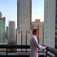 THIS JUST INN | It doesn't get much better than Penthouse living with the Chicago skyline behind you. Photo: manfront