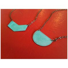 We are in total love with these Elisa Shere Oxidized Verdigris Necklaces. Dog Tags, Dog Tag Necklace, Jewels, Necklaces, Accessories, Inspiration, Biblical Inspiration, Jewelery, Jewelry