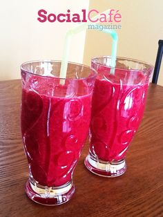 Start your day with a fresh Banana Beet Smoothie