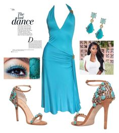 """Untitled #336"" by sylvia-tall ❤ liked on Polyvore featuring GEDEBE, Versace, Anja and Carolee"