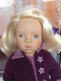 Салон красоты для детишек-малышек. Minouche Sylviya Naterrer Petitcollin. Начало / Sylvia Natterer, Сильвия Наттерер. Коллекционно-игровые куклы / Бэйбики. Куклы фото. Одежда для кукол