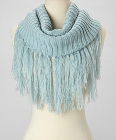 Another great find on #zulily! Aqua Girl Infinity Scarf by Capelli New York #zulilyfinds