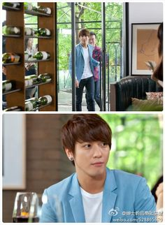 A Gentlemans Dignity - Jung Yong Hwa as himself.  And he was so awesome!!  Such a funny scene!!