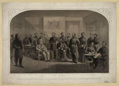 The room in the McLean House, at Appomattox C.H., in which Gen. Lee surrendered to Gen. Grant. Print by Major & Knapp. http://hdl.loc.gov/loc.pnp/pga.02091