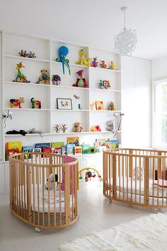 #nursery #baby room #kid room #twins