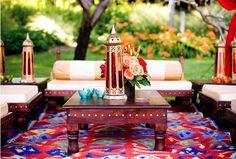Indian flowers and decor - Indian wedding details - mehndi henna party #mehndi #indianwedding #weddinginspiration