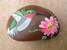 Hummingbird river rock