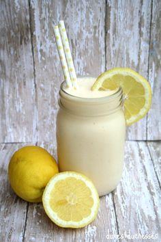 Frosted Lemonade ~ frozen lemonade concentrate, vanilla ice cream, cold water