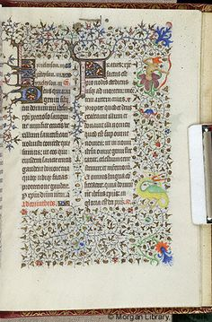 Book of Hours, MS M.1004 fol. 167r - Images from Medieval and Renaissance Manuscripts - The Morgan Library & Museum