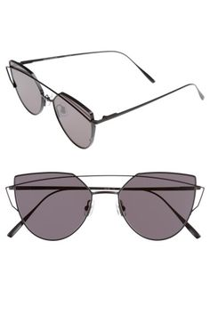 4aea370efe3b9 GENTLE MONSTER Love Punch 55mm Titanium Aviator Sunglasses.  gentlemonster    Latest Sunglasses