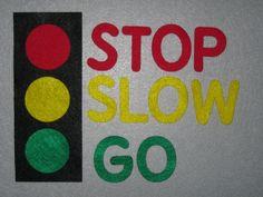 Traffic Light Felt Board Story