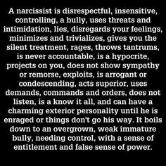 This is so true!  Looking good but brainless, emotionally bankrupt and manipulatively cunning.