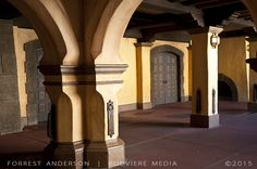 Arches, pillars and door at Disney World. Photo by Forrest Anderson. This and other photos by Forrest Anderson are available at rouviere.com.
