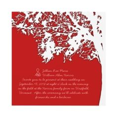 This would be the perfect invitation for my fall wedding.