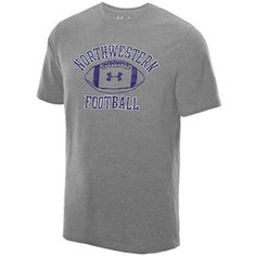 Also available in purple. Under Armour® True Grey Heather Football Game Changer T-Shirt HeatGear delivers maximum moisture transport, keeping you cool, dry and light as temperatures rise.