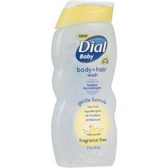 Dial Baby Fragrance Free Body + Hair Wash, 12 fl oz