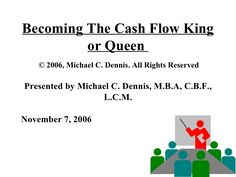 Become the Cash King by Credit Management Association via slideshare - - Credit Collection, Credit Card Application, How To Apply, How To Get, Credit Score, Study Tips, How To Make Money, Finance, Management