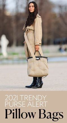 Ahead, gather a bit of pillow bag outfit inspiration, then shop a brand new one ahead of summer 2021.#purses #handbags #trendybags City Chic, Cloth Bags, Thrifting, Fashion Photography, Brand New, Street Style, Handbags, Couture, Purses