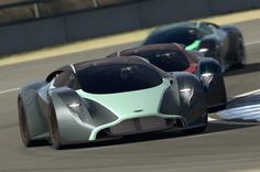 Aston Martin DP-100 Vision Gran Turismo - #WORMLAND Men's Fashion Car Style