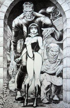 Vampirella//Arthur Adams/A/ Comic Art Community GALLERY OF COMIC ART