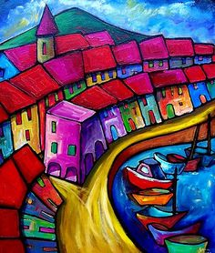 Sara Catena-COLOURFUL PORT OF CORRICELLA - ITALY.
