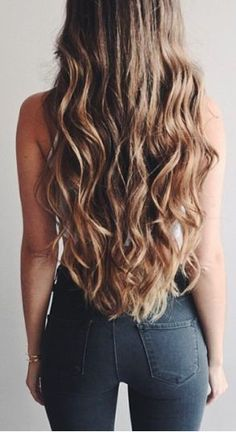 Long hair,want it? Just try some clip in hair extensions, change look in a second.