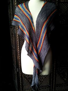 Ravelry: Contagious shawl pattern by Deborah Frank