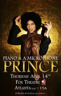 As the world mourns Prince, we're finding that his vigilance about keeping his music offline has complicated the process. But there are a few precious snippets of audio and video out there, and another one has made its way online. Prince had been performing a solo piano tour at the time of his death, and that was the context for his final show last Thursday, 4/14 at Atlanta's Fox Theatre. Full audio from the concert has emerged online. Stream it below.  Setlist via SoundCloud: • When Will B…