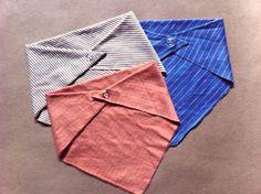 Mostaza Seed: No Sew Upcycled Bandana Bibs