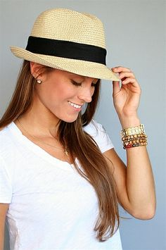 d233eac668a Toucan Hats - Natural Packable Fedora Hat Fashion Moda