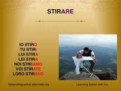 Italian - stirare (peglati)