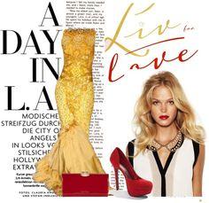 """LA Girl"" by annika-godwin ❤ liked on Polyvore"