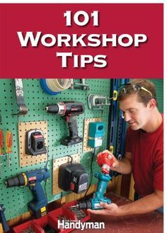 For decades, the editors of The Family Handyman have collected ingenious workshops improvements from DIYers and pros alike. And now we've packed the all the best ideas into one ebook! 101 Workshop Tips is filled with simple, frugal ways make your favorite place even better. Here's a sample of what you'll get: -Quick, simple workbench upgrades -Tricks for faster cleanup -Dust control for a cleaner shop -On-board accessory storage for your table sa
