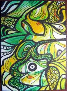 color zentangle