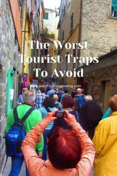 The Worst Tourist Traps You Should Avoid Travel Hacks, Travel Advice, Travel Guides, Travel Tips, Beautiful Places To Travel, Beautiful World, Family Adventure, Adventure Travel, Travel Images