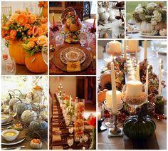 #Thanksgiving #Table Setting (Pin) Inspirations! – The Daily Basics #thanksgivingdecorating