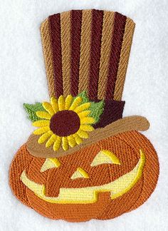 Gentleman Jack Halloween Machine Embroidery Designs at Embroidery Library! - Color Change - D8129