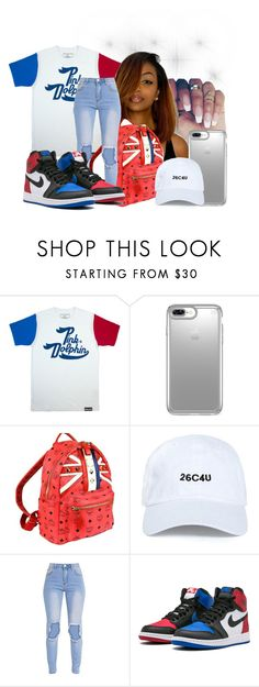 """""""Untitled #145"""" by zoelh178 on Polyvore featuring Speck and MCM"""