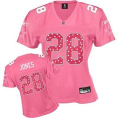 Reebok Dallas Cowboys Felix Jones Women's Pink Sweetheart Jersey
