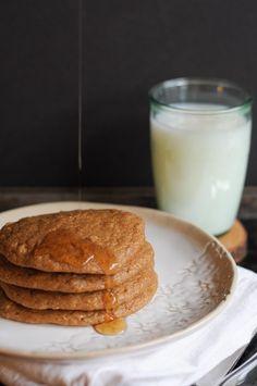 No sugar, no banana peanut butter pancakes.