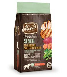 Merrick Grain Free Senior Real Chicken & Sweet Potato Recipe Dry Dog Food