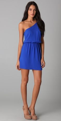 They don't have my size anymore but I'm in love with this: Rory Beca Tempest One Shoulder Dress