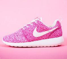 Nike WMNS Roshe Run-Sail-Sail-Pink Force #sneakers #kicks