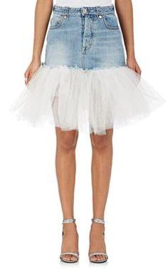 BEN TAVERNITI UNRAVEL PROJECT . #bentavernitiunravelproject #cloth #miniskirt