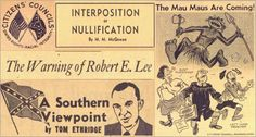 The Citizens' Council: digitized Mississippi white supremacist newspaper, 1955-1961