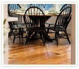 Reclaimed oak wood flooring creates a stunning floor with a distinguised antique look for generations to enjoy. Browse our oak flooring products. Reclaimed Oak Flooring, Wood Flooring, Oak Dining Room, Wide Plank Flooring, Home Room Design, House Rooms, Outdoor Furniture, Outdoor Decor, Table And Chairs