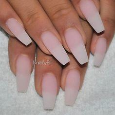 Matte soft pink #gel